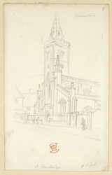 St Clement''s Church, Cambridge, 1824